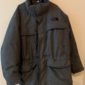 Barley worn North Face down coat